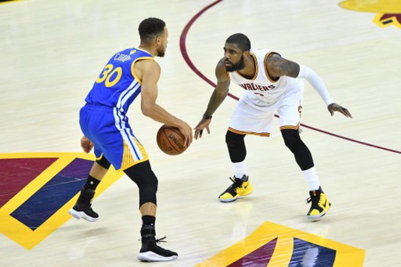 Warriors vs Cavaliers Final NBA 2017 (Foto: Jason Miller/Getty Images/AFP)