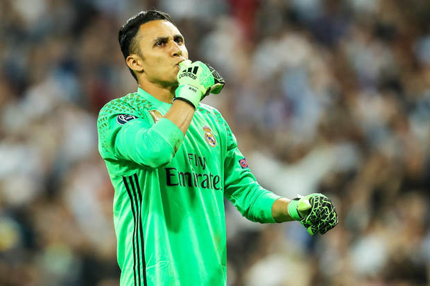 Kiper Real Madrid, Keylor Navas (Foto: Getty Images)