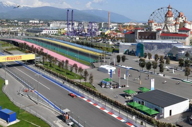 Sirkuit Sochi Autodrom (Foto: Andrej Isakovic/AFP)