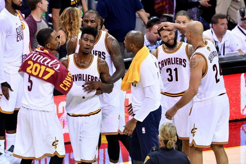 Pemain Cavaliers (Foto: Jason Miller/Getty Images/AFP)