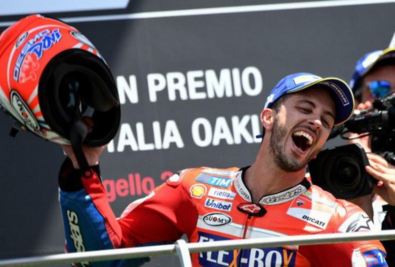 Hasil MotoGP Catalunya: Dovizioso Juara, Valentino Rossi Posisi Delapan