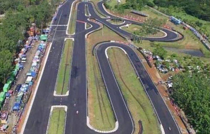 Sirkuit Manggul di Kabupaten Lahat, Sumatera Selatan (Foto: Okezone / Melly Puspita)