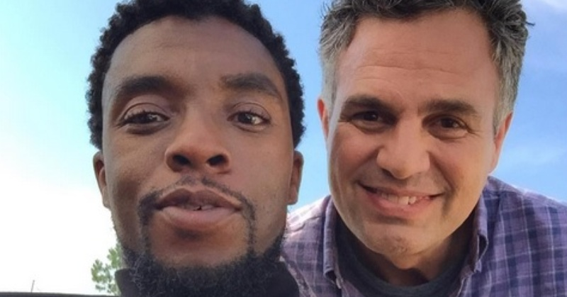 Black Panther dan Hulk (Foto: Instagram)