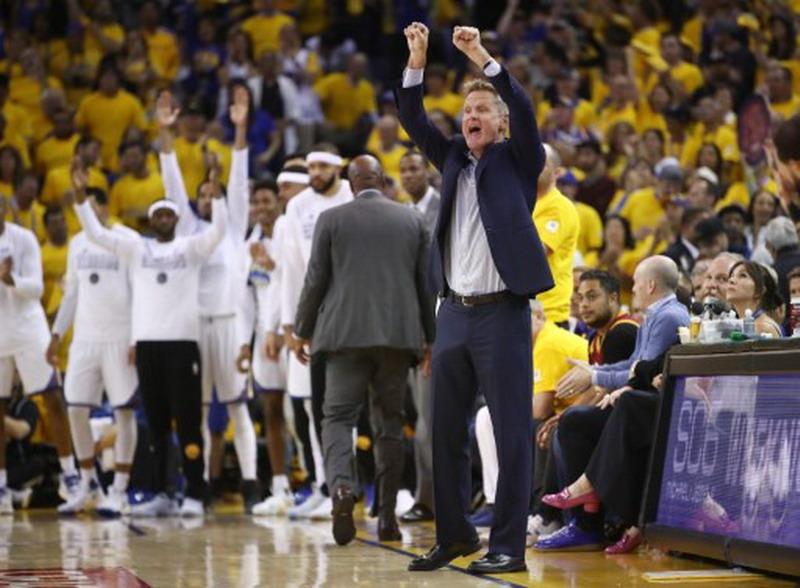 Steve Kerr usai kemenangan Golden State Warr