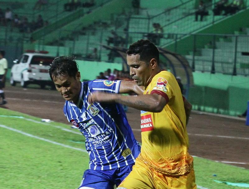 Beto jadi andalan Sriwijaya FC. (Foto: ANTARA/Ari Bowo Sucipto)