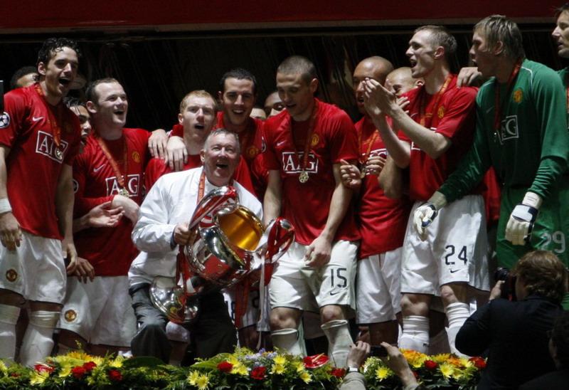 Man United saat juara Liga Champions 2007-2008. (Foto: ibTimes)