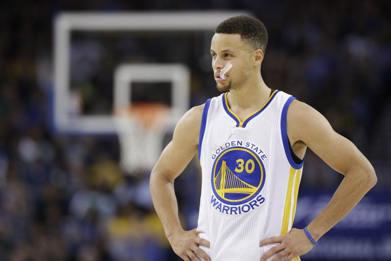 Stephen Curry / laman resmi NBA