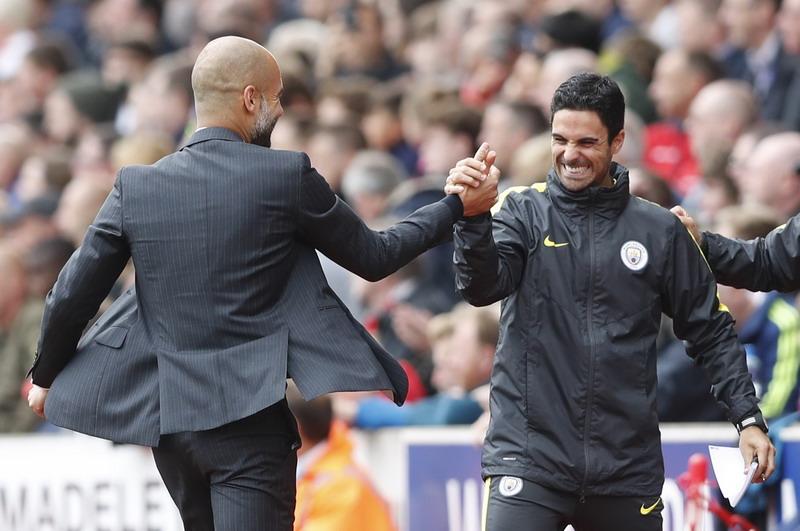 Guardiola siap bawa Man City juara Liga Inggris. (Foto: REUTERS/Carl Recine)