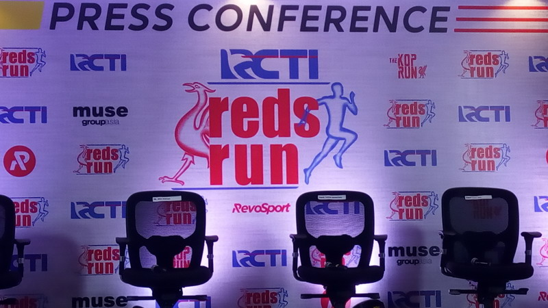 Konferensi pers The Reds Run RCTI. (Foto: Leonardus Selwyin Kangsaputra/Okezone))