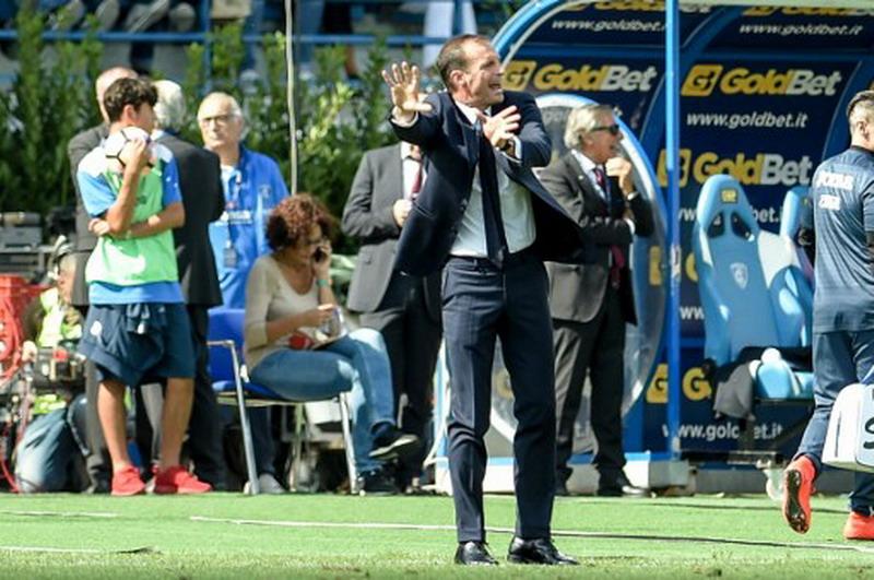 Allegri tolak sebut nama pemain incaran ke manajemen Juventus. (Foto: AFP/Andreas Solaro)
