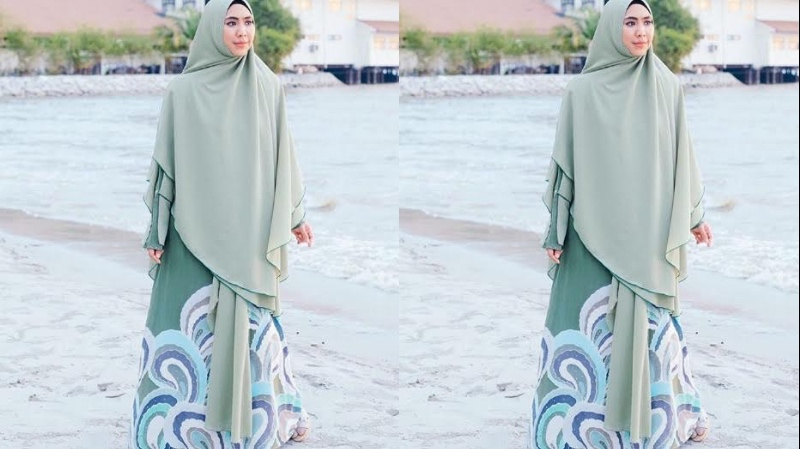 Sifon Cerruti, Bahan Paling Nyaman untuk Baju Lebaran Wanita Berhijab Syar'i
