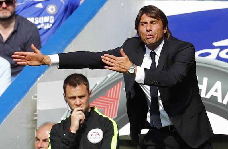 Conte bersiap tinggalkan Chelsea. (Foto: REUTERS/Eddie Keogh)