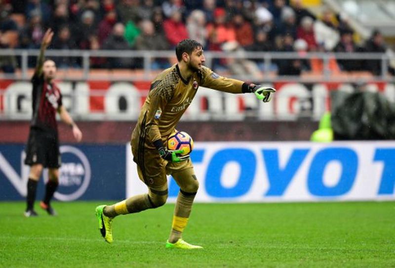 Donnaruma sempat khianati Inter. (Foto: AFP/Miguel Medina)