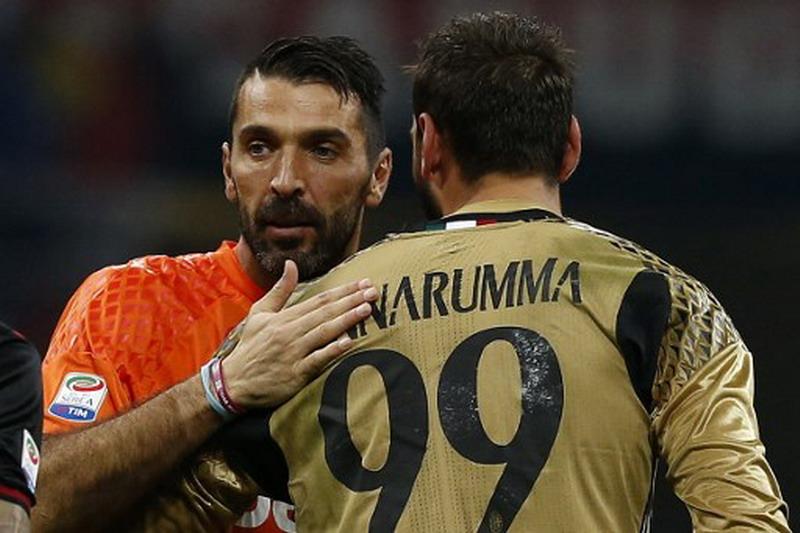 Donnarumma disiapkan untuk gantikan Buffon di Juventus dan Italia. (Foto: AFP/Marco Bertorello)