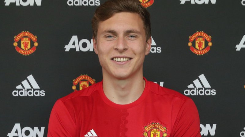 Victor Lindelof. (Foto: Sky Sport)