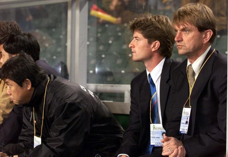 Pieter Huistra (tengah) (Foto: AFP)