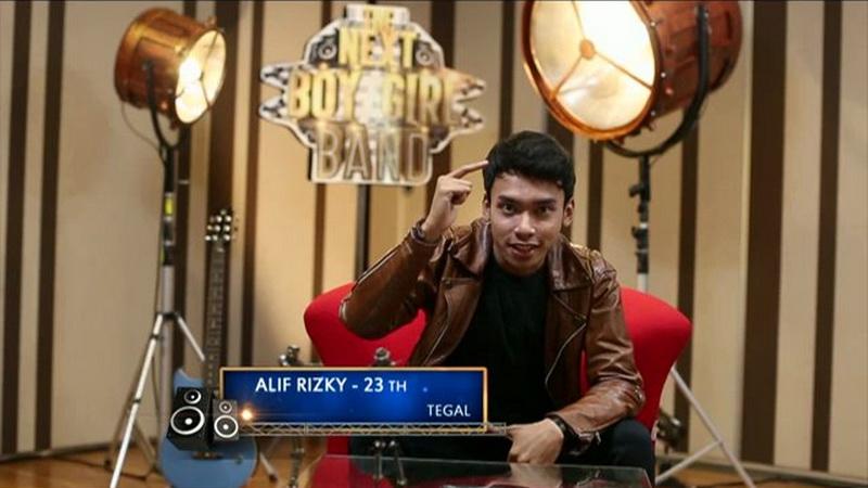 Alif peserta The Next Boy/Girl Band Global TV (Foto: Twitter)