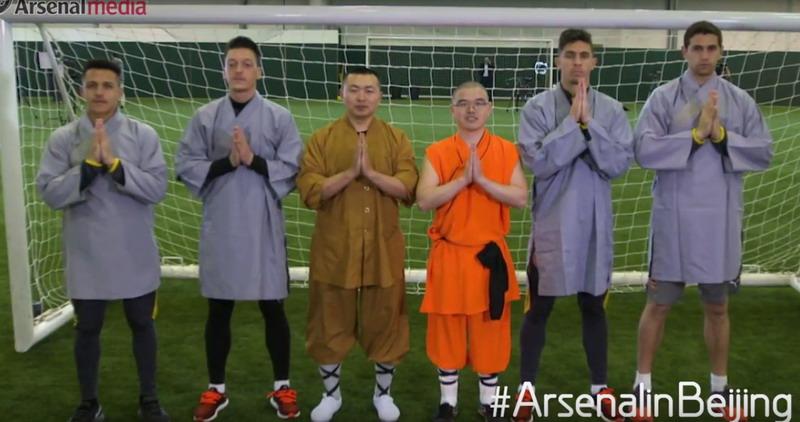 Para pemain Arsenal (Foto: Youtube Arsenal)