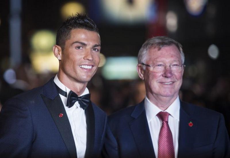 Cristiano Ronaldo & Sir Alex Ferguson (Foto: Jack Taylor/AFP)