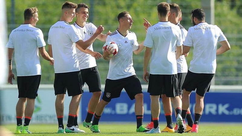 Pemain Timnas Jerman U-21 (Foto: UEFA/Getty Images)