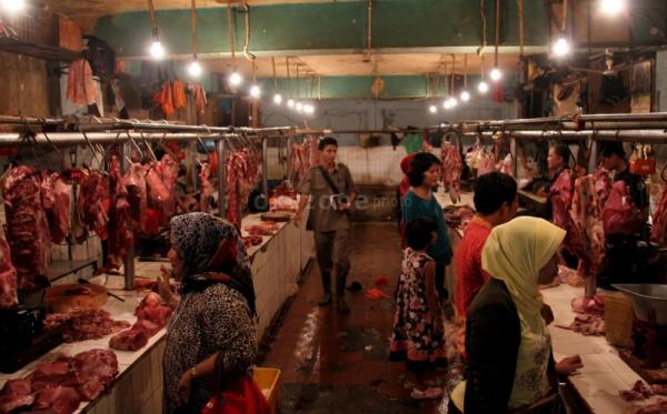 \Tim Khusus Dibentuk Awasi Penjualan Daging Jelang Lebaran\