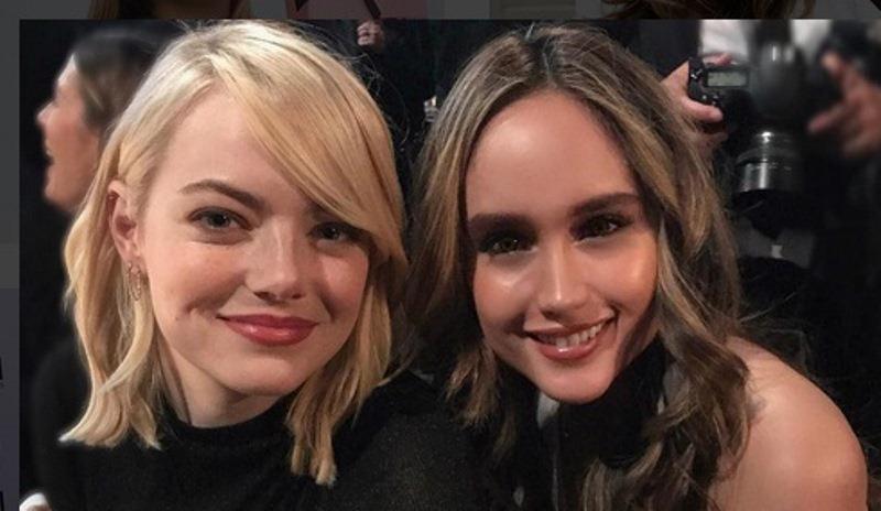 Emma Stone dan Cinta Laura (Foto: Instagram)