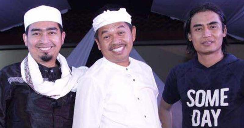 Kang Dedi, Charly, dan Ustadz Solmed (Foto: Ist)