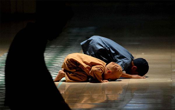 Ilustrasi Sujud. (Foto: Muslim Village)