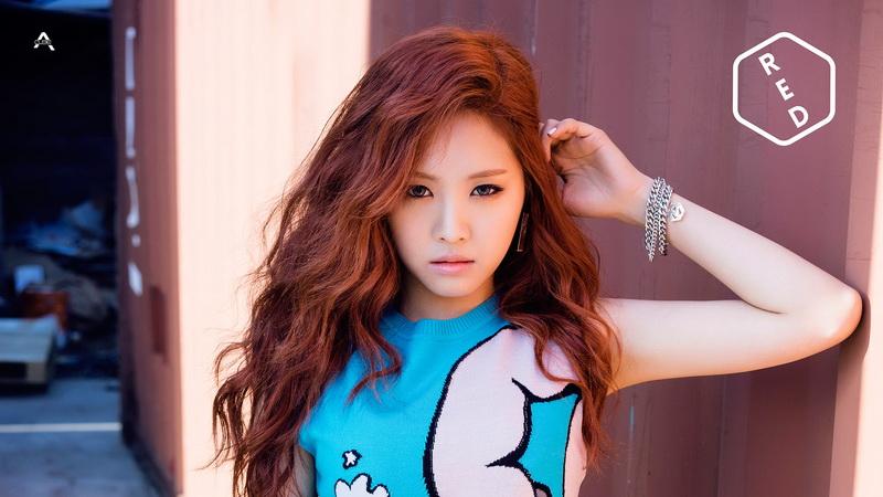 Na Eun 'A Pink' (Foto: Pinterest)