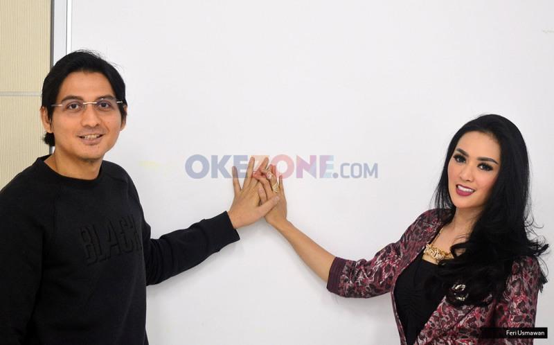 Lucky Hakim dan Tiara Dewi  (Foro: Feri/Okezone)