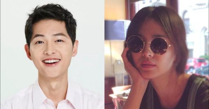 Song Joong Ki dan Hye Kyo (Foto: Instagram)