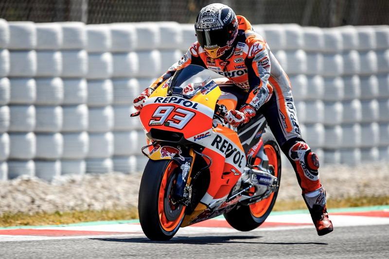 Marc Marquez (Foto: Twitter @HRC_MotoGP)