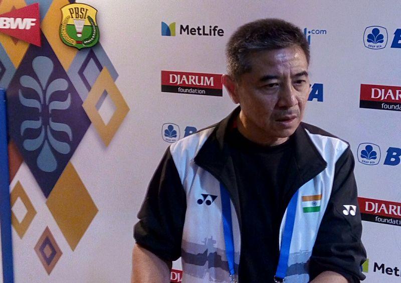 Pelatih tunggal putra India, Mulyo Handoyo (Foto: Okezone / Deden Rochman Saputro)