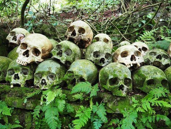 Misteri Makam Terbuka di Desa Trunyan, Bali