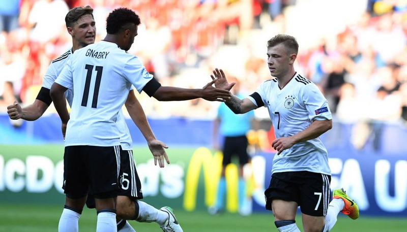 Jerman U-21 (Foto: Twitter Timnas Jerman)