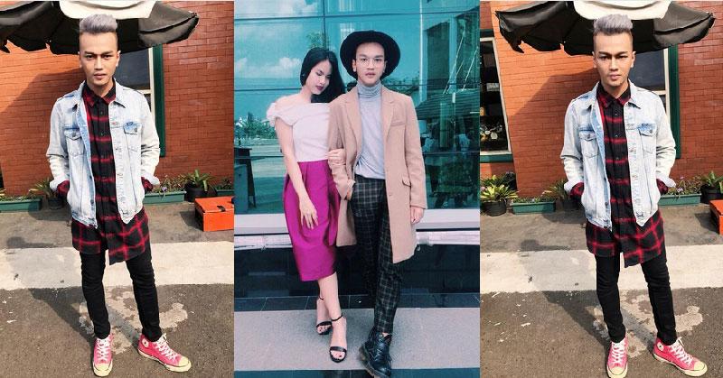 Intip Gaya Angga Dwi Pratama, Peserta The Nexy Boy/Girl Band Paling Fashionable