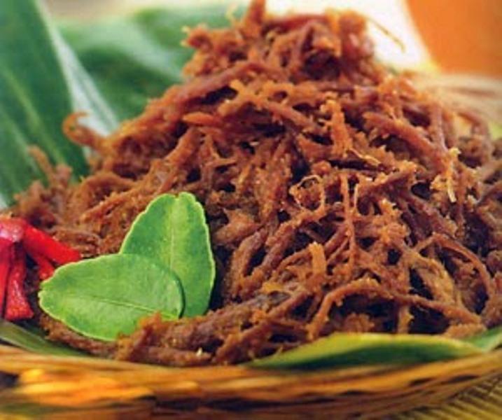 RESEP NENEK: Nikmatnya Berbuka Puasa dengan Dendeng Suwir dan Nasi Putih Hangat Nanti Sore