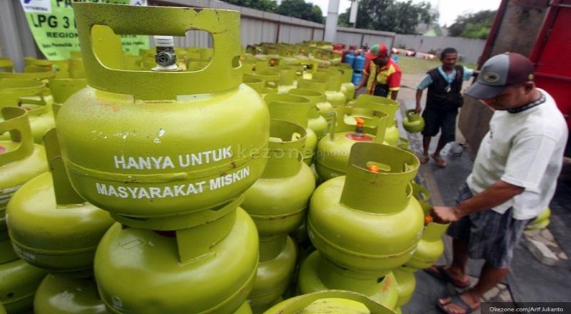 \Penyaluran Subsidi Gas 3 Kg Lewat Satu Kartu Libatkan BI dan OJK\