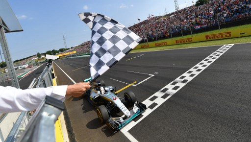 Sirkuit Hungaroring (Foto:AFP)