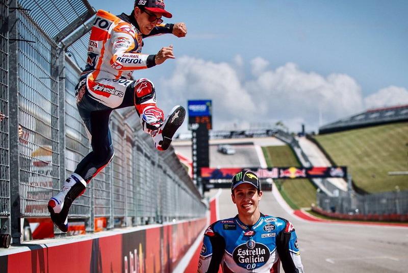 Marc dan Alex Marquez (Foto: Twitter @alexmarquez73)