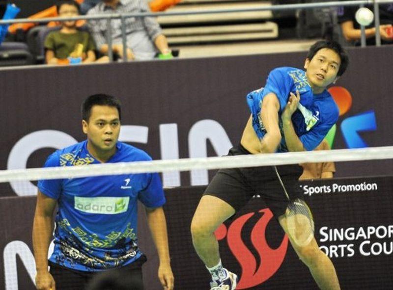 Pebulu Tangkis Indonesia, Markis Kido/Hendra Setiawan (Foto: AFP)