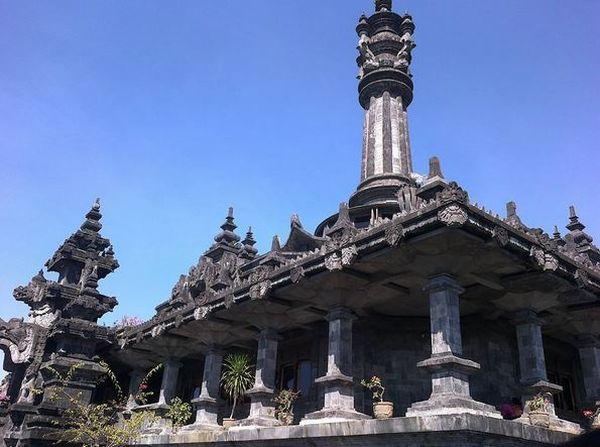 SHARE LOC: Cantiknya Pahatan Seni di Monumen Bajra Sandhi Bali