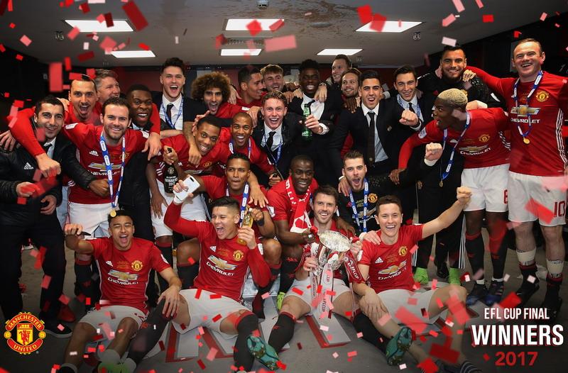 Skuad Manchester United (Foto: Laman resmi Man United)