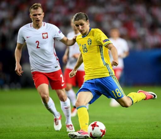 Swedia U-21 vs Polandia U-21 (Foto:AFP)