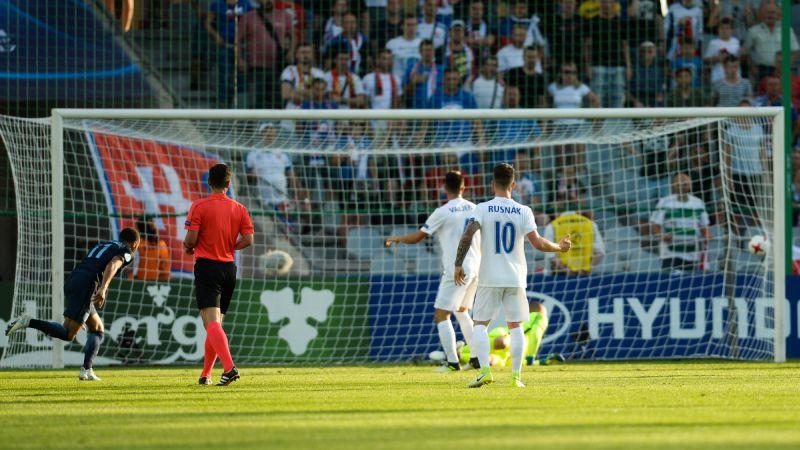 Slovakia vs Inggris di Piala Eropa U-21 2017 (Foto: Laman resmi UEFA)