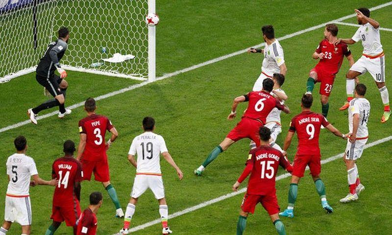 Portugal vs Meksiko di Piala Konfederasi 2017 (Foto: Reuters / Maxim Shemtov)