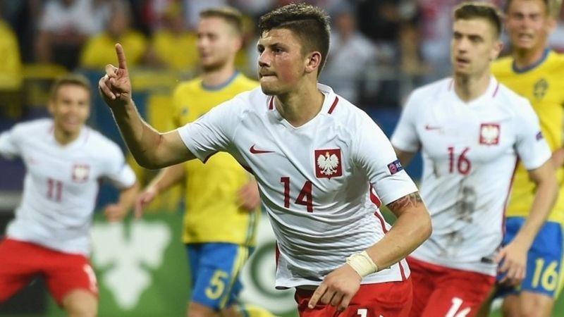 Pemain Timnas Polandia U-21, Dawid Kownacki (Foto: Laman resmi UEFA)