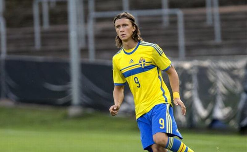 Pemain Timnas Swedia U-21, Kristoffer Olsson (Foto: 101 Great Goals)