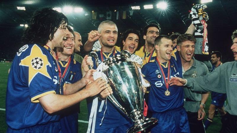 Juventus saat menjuarai Liga Champions 1995-1996. (UEFA.com)