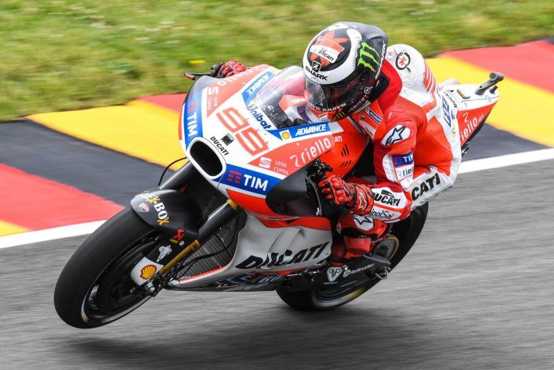 Pembalap Tim Ducati Corse, Jorge Lorenzo (Foto: Laman Resmi MotoGP)